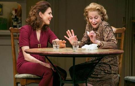 "Judith Light (right) in ""The Assembled Parties."""